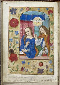 "Anne Boleyn's note to Henry VIII in her Book of Hours: ""By daily prove you shall me fynde to be to you bothe lovynge and kynde."""
