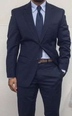 blue pinstrip, fashion styles, suit, blues