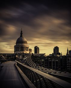 St. Paul's cathedral in London,