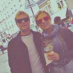 NEW pic of Josh in Paris •|• #jenniferlawrence #jlaw #lawsworth