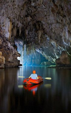 Underground river kayaking #kayak #kayaker #kayaking