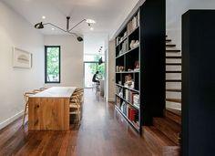 dining rooms, design homes, contrast hous, design interiors, shelving units, contrast architecture home, home architecture, outdoor spaces, dubbeldam architectur