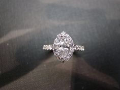 Engagement Ring with Marquise Diamond in 14K by honngaijewelry, $2980.00