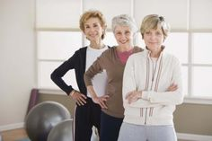Exercises for Women Over 60 -  this article has great information