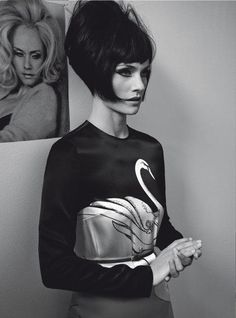 Amber Valletta for Vogue Italia March 2011