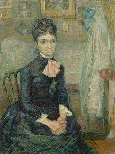"""Mother by a Cradle"" Vincent van Gogh"