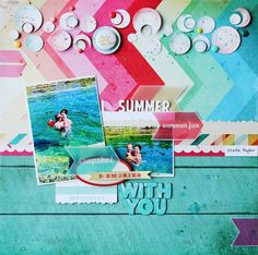 Summer with you *Scraptastic Kit Club*
