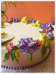Icing a cake smoothly tutorial