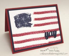 Happy 4th of July! :: Confessions of a Stamping Addict Lorri Heiling Stampin' Up Work of Art