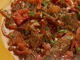 Lomo Saltado   (peruvian beef) Add cumin and garlic