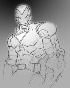 Iron Man by Yak