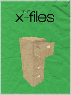 The X-Files minimalist posters