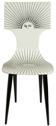 Fornasetti sun chair