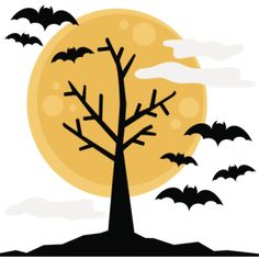 Halloween Tree SVG