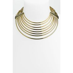 Belle Noel Collar Necklace ($95) ❤ liked on Polyvore