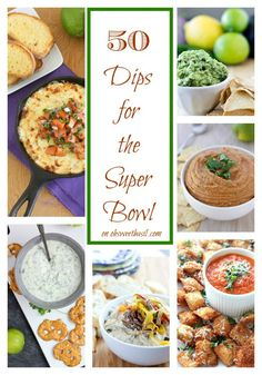 50 Dips for the Super Bowl 2