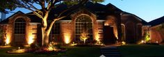 Exterior Landscape Lighting Plano Texas | Landscape Lighting Dallas Texas | Outdoor Landscape Lighting | Landscape Lighting Design | Landscape Lighting Installation
