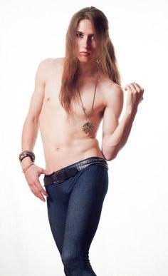 Stunning Boris Balandin Androgynous Model