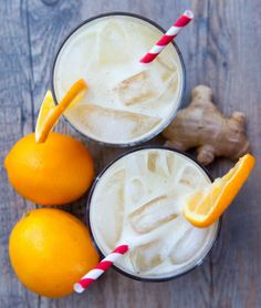 Spicy Ginger Meyer Lemonade - Love with recipe