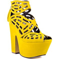 Nothing like yellow shoes!