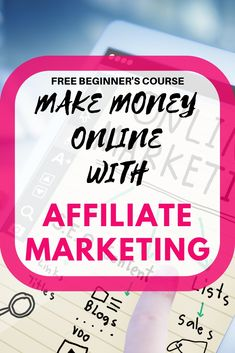 WONDERING HOW AFFILIATE MARKETING WORKS AND HOW TO MAKE MONEY WITH IT? THEN THIS FREE AFFILIATE MARKETING COURSE IS EXACTLY WHAT YOU NEED TO GET YOU STARTED MAKING MONEY ONLINE.