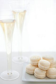Champagne Macarons by annieseats, via Flickr