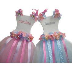 Princess Tutu Dress Personalized Bow Holder