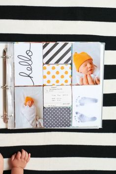 Using the #ProjectLife Midnight Edition to document baby's first days.