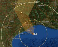 Hurricane Ike was a BIG storm