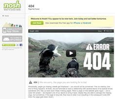 Bad links are serious business. http://www.nosh.com/foo via http://twitter.com/rklau