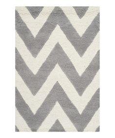Silver Morro Wool Rug #zulilyfinds $34.99