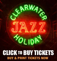 The Clearwater Jazz Holiday is a top event in the city every year!