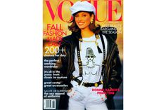 4 Of-the-Moment Looks Inspired by 90s Vogue Cover Girls–Vogue | Christy Turlington. Christy Turlington Photographed by Arthur Elgort, August 1992.