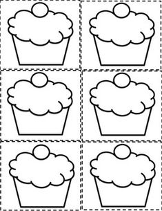 ESL BIRTHDAY GRAPH BULLETIN BOARD CUPCAKE PRINTABLES AND WORKSHEET ...