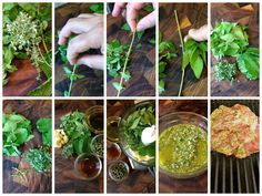 Fresh herbs can be incorporated into almost any dish. This simple chimichurri sauce recipe from The Diabetic Chef Chris Smith is one way to add a flavor punch without including extra salt. #food #recipes