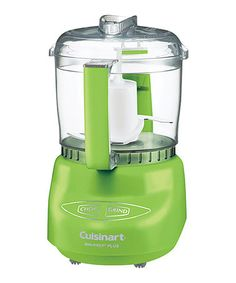 Take a look at this Green Mini-Prep Plus Food Processor by Cuisinart on #zulily today!