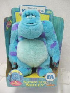Sulley Monsters Inc. Surprise Eyes Stuffed Plush