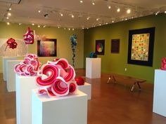 Gallery of hyperbolic crochet pieces
