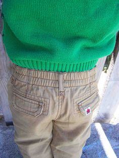 DIY Adjustable Waistband For Pants