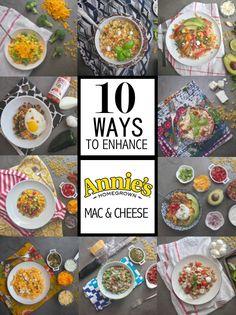 10 Ways to Enhance Annie's Mac & Cheese // shutterbean