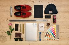A Showcase of Knolling for Artists & Designers