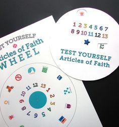 Articles of Faith Wheel