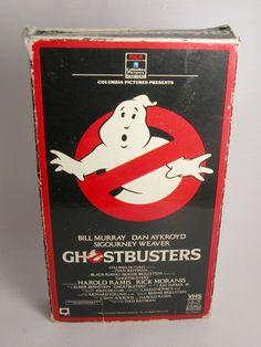 Ghostbusters Vintage VHS Tape
