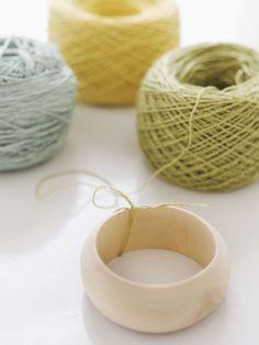 idea, craft, colors, bangles, diy bracelet