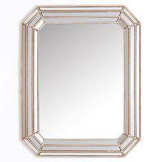 "Abby Champagne Mirror   Kirkland's - 26""x33"" - $80"