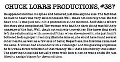 Chuck Lorre Productions #387 End of Big Bang Theory blurb!