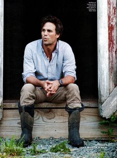 I could look at Mark Ruffalo all day.