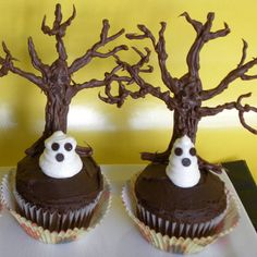 Haunted Forest Cupcakes Recipe - Image Collection