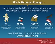 Let's finish the job and end polio forever.