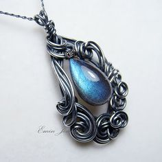 Another beautiful wire work piece by Emin Jewelry.